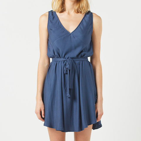 Now & Then Elsie Dress - Navy