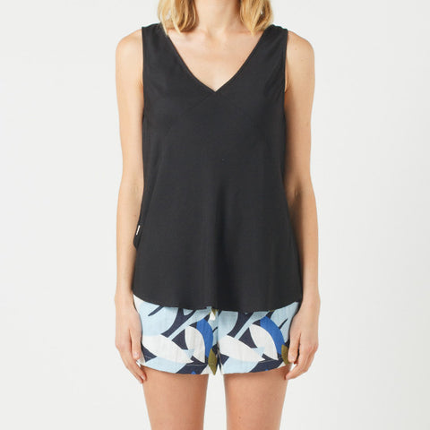 Now & Then Elsie Top - Black
