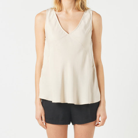 Now & Then Elsie Top - Nude