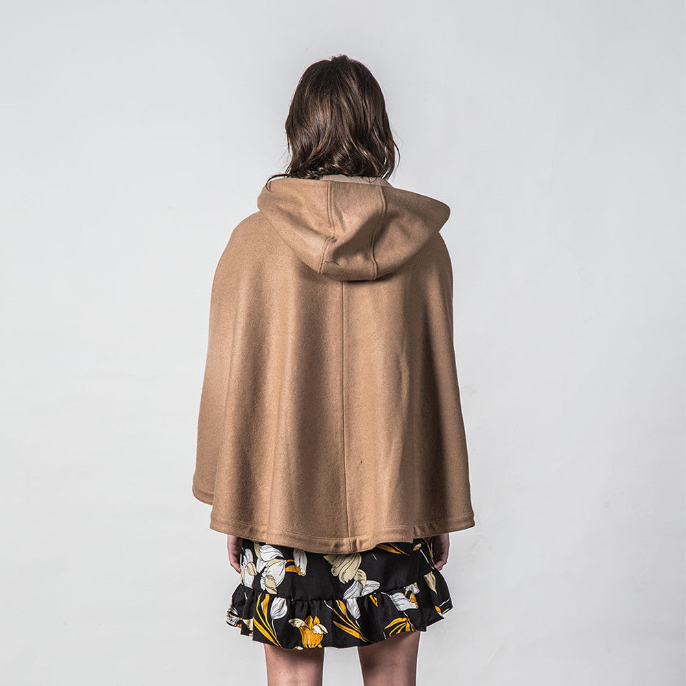 Thing Thing Forever Poncho (Tan)