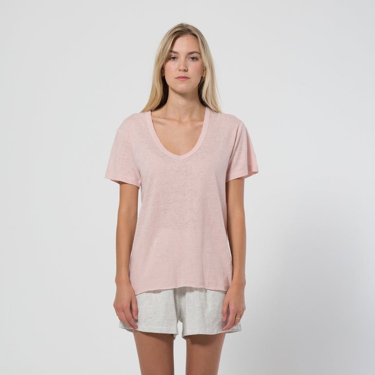 Five Each Olsen Tee - Blush