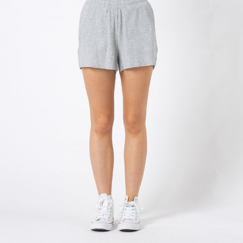 Five Each Relax Shorts - Grey Marle
