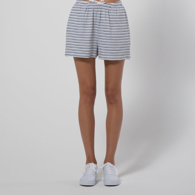 Five Each Relaxed Short - Stripe