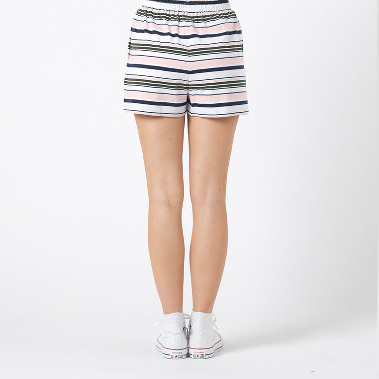 Five Each Relax Shorts in Stripe