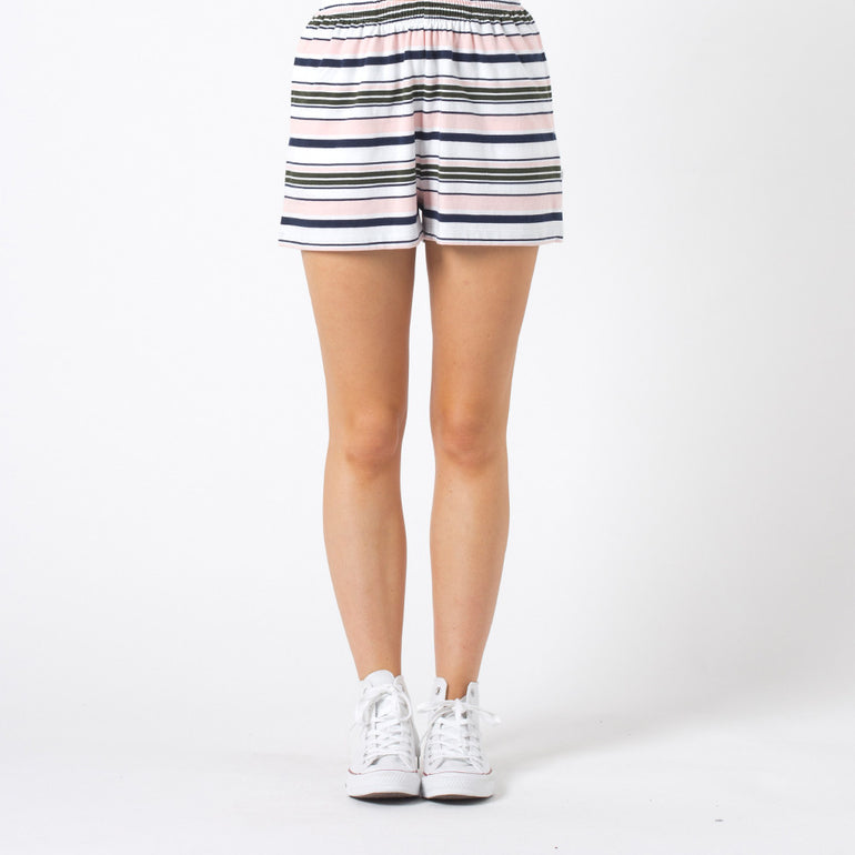 Five Each Relax Shorts - Stripe