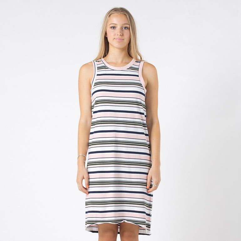 Five Each Reverse Dress - Stripe