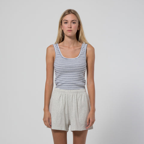 Five Each Classic Rib Tank - Stripe