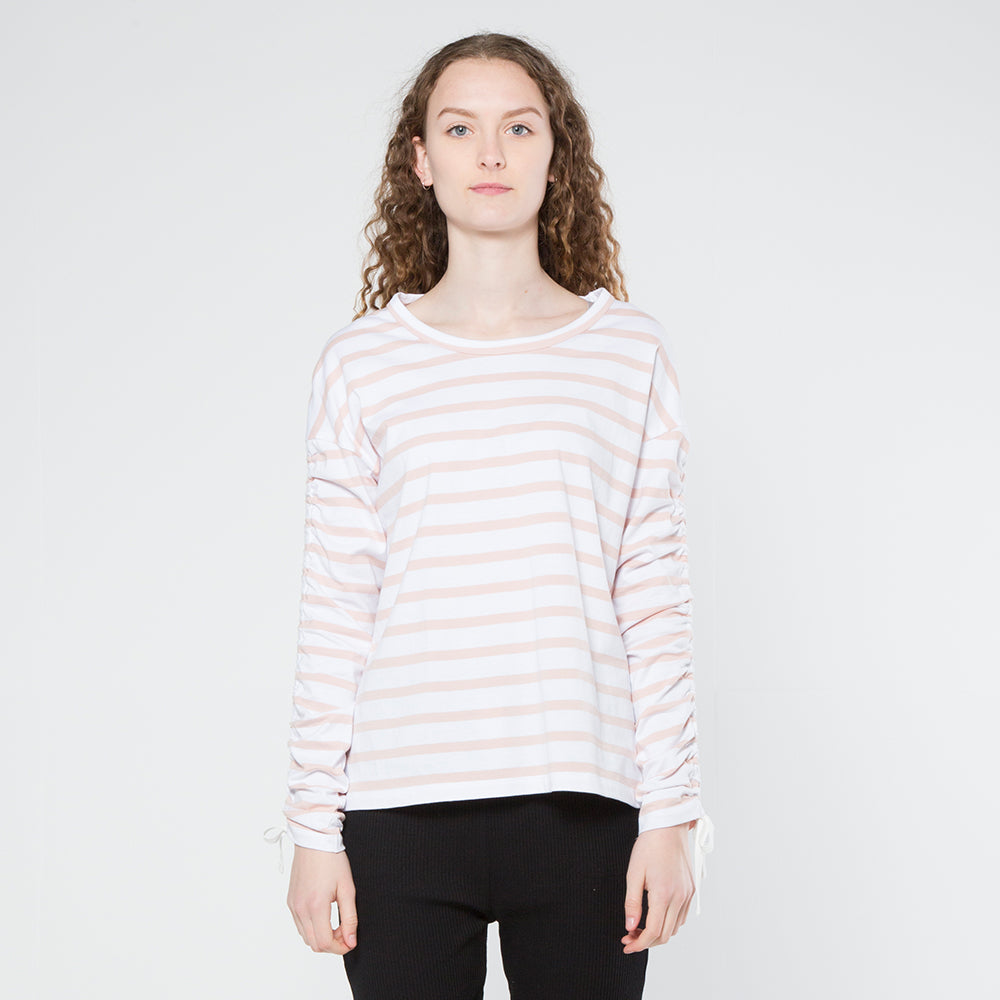 Five Each Scrunch L/S Tee - Stripe