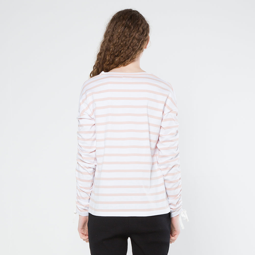 Five Each Scrunch L/S Tee Stripe