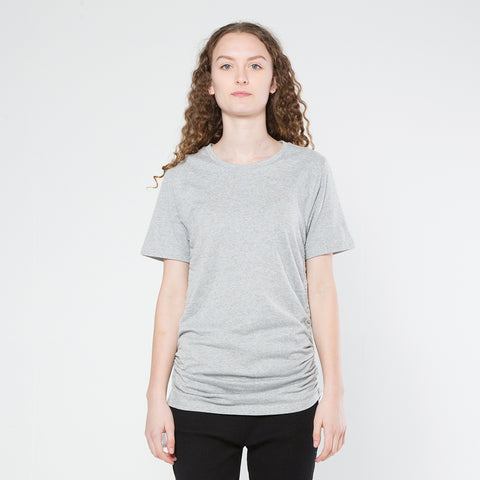 Five Each Scrunch Tee - Grey Marle