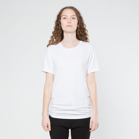 Five Each Scrunch Tee - White