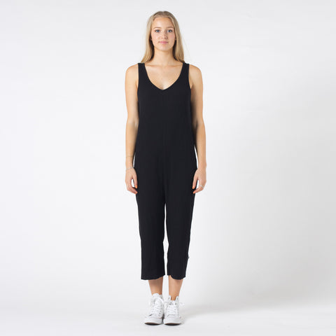 Five Each Throw On Jumpsuit - Black