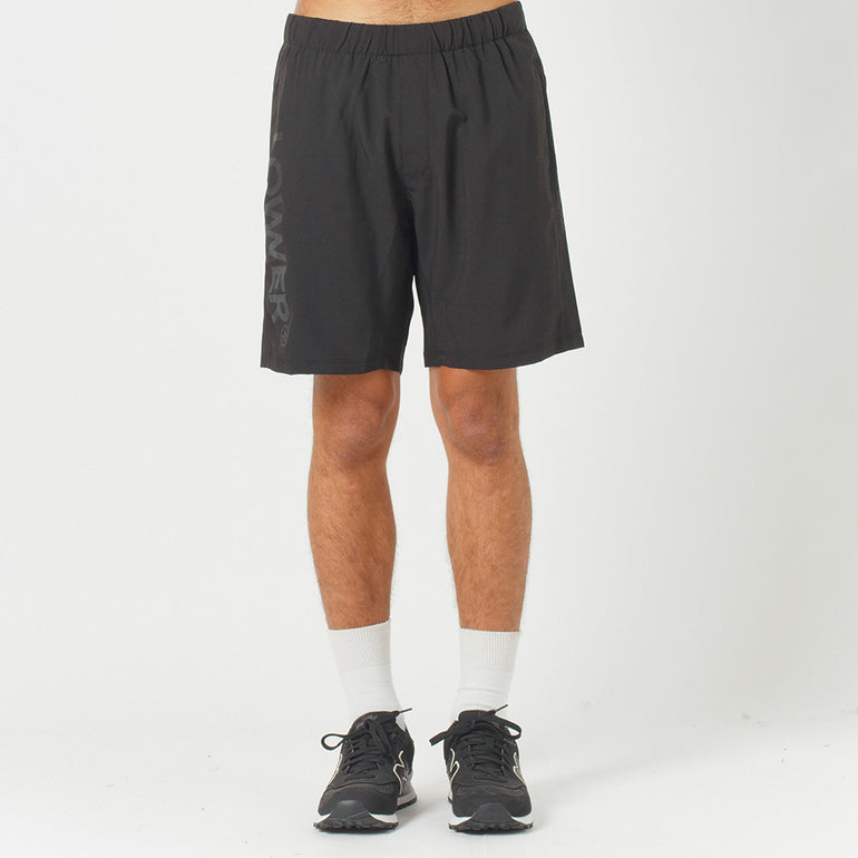 Lower Sport Gym Short / Triple U (reflective) - Black