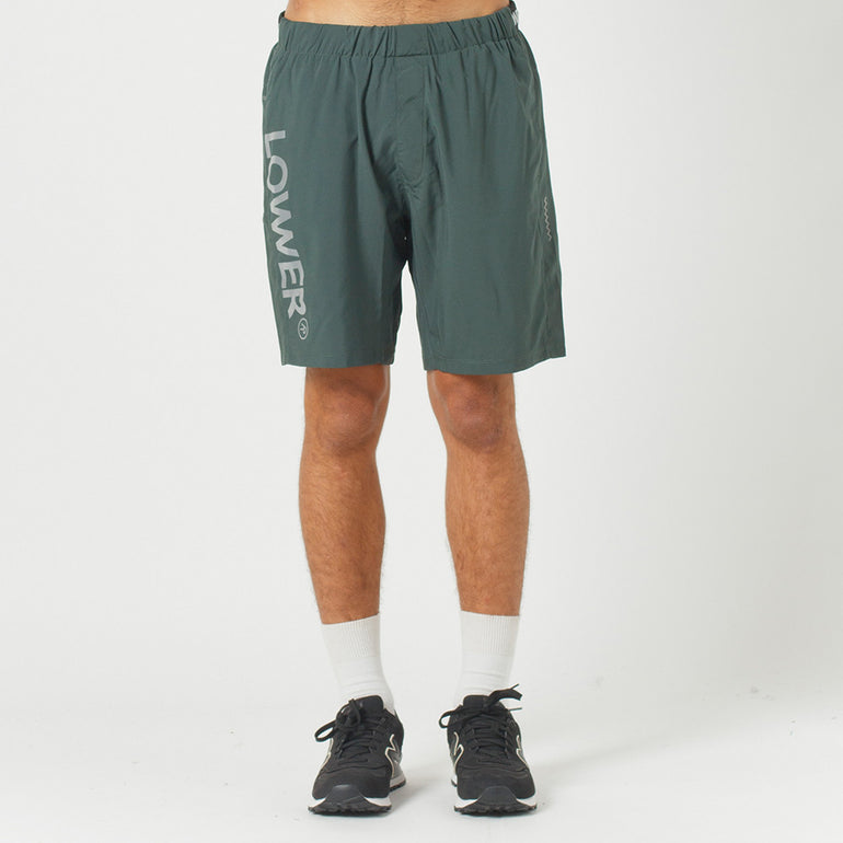 Lower Sport Gym Short / Triple U (reflective) - Green
