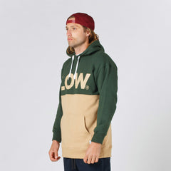Lower Halfway Hood / LOW in Forest Green/Tan
