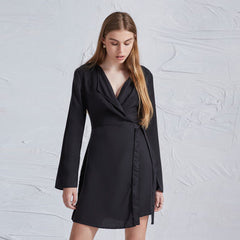 The Fifth Label Harmony L/S Dress - Black