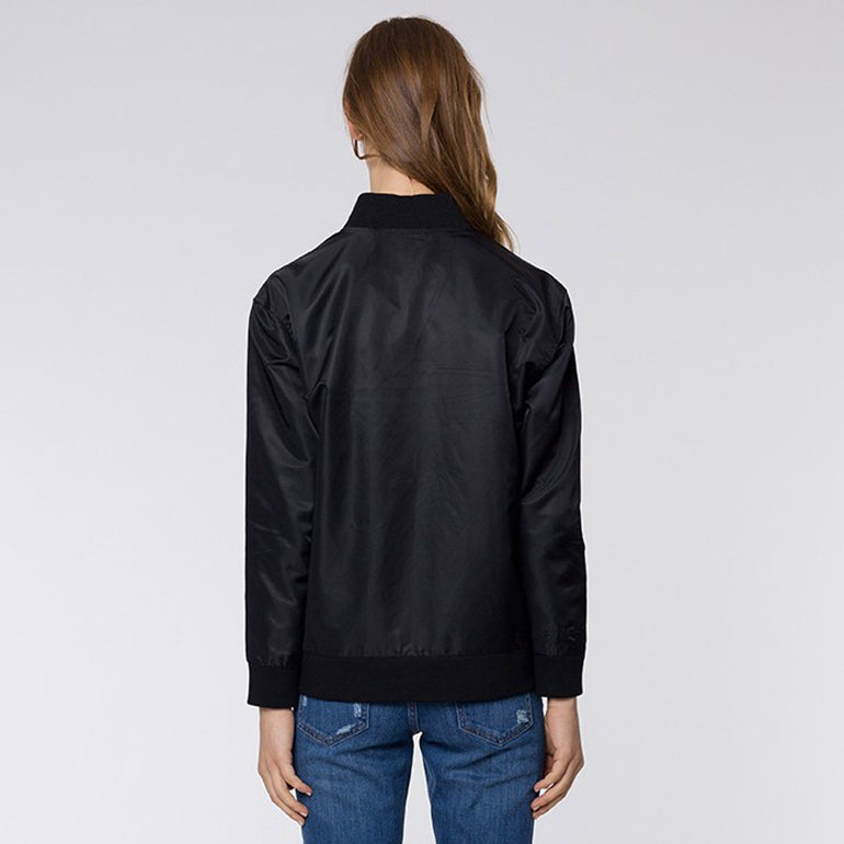 Huffer Paris Jacket in Black