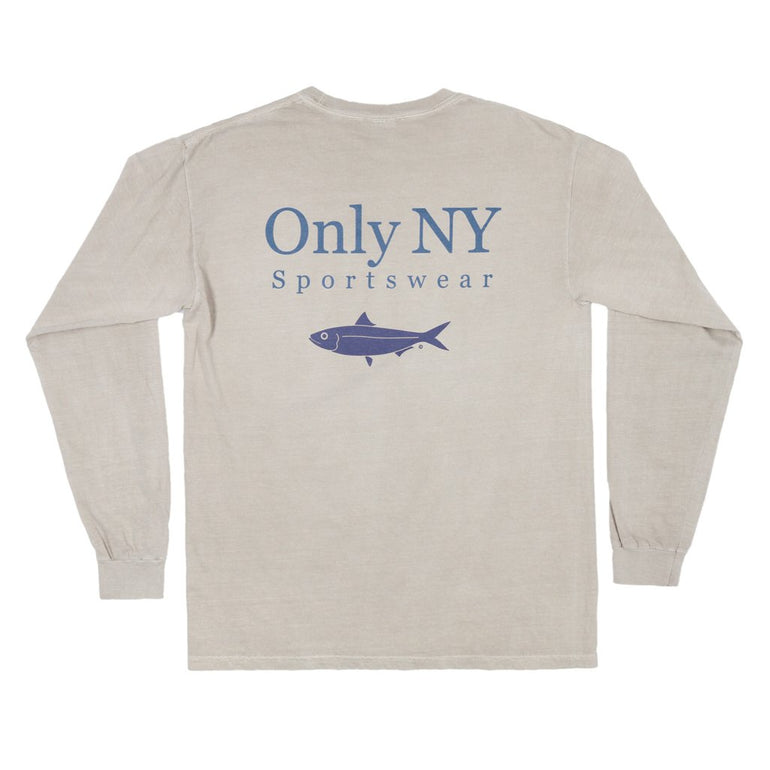 Only NY Guideline L/S Tee - Sand