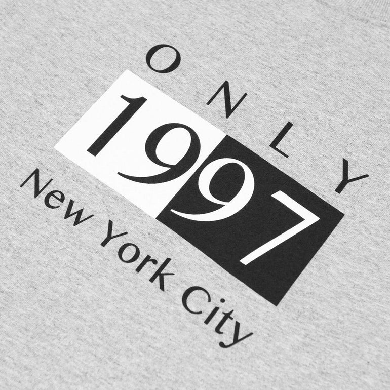 Only NY Deco T-Shirt - Heather Grey