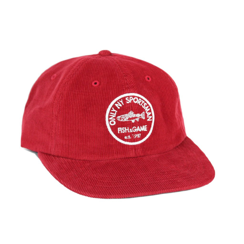 Only NY Fish & Game Polo Hat - Rust