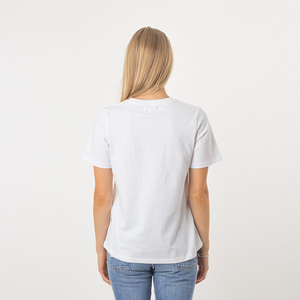 Now & Then Daily Tee / Cherish (White)