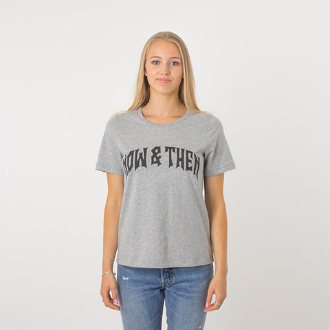 Now & Then Daily Tee / Cherish - Grey