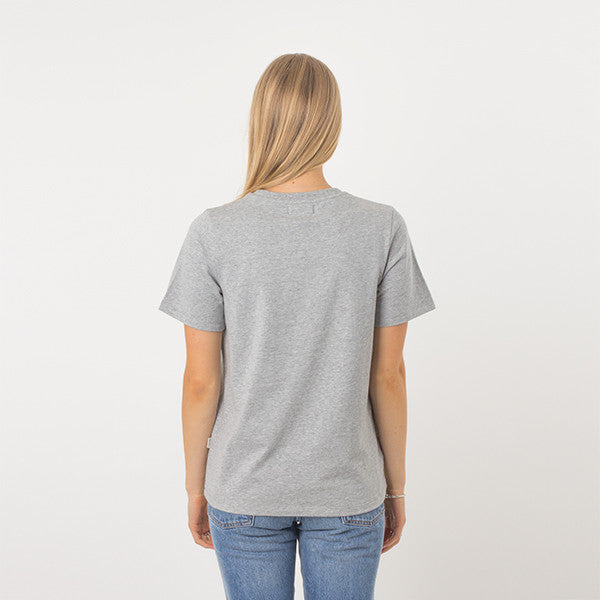Now & Then Daily Tee / Vibes - Grey