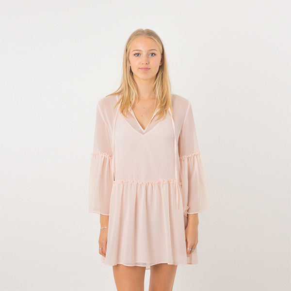 The Fifth Label Voyage Dress in Shell Pink