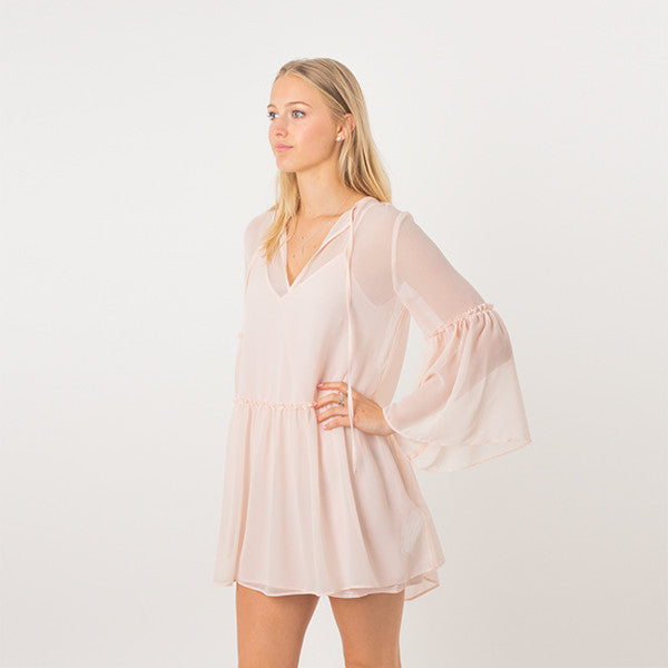 The Fifth Label / Voyage Dress - Shell Pink