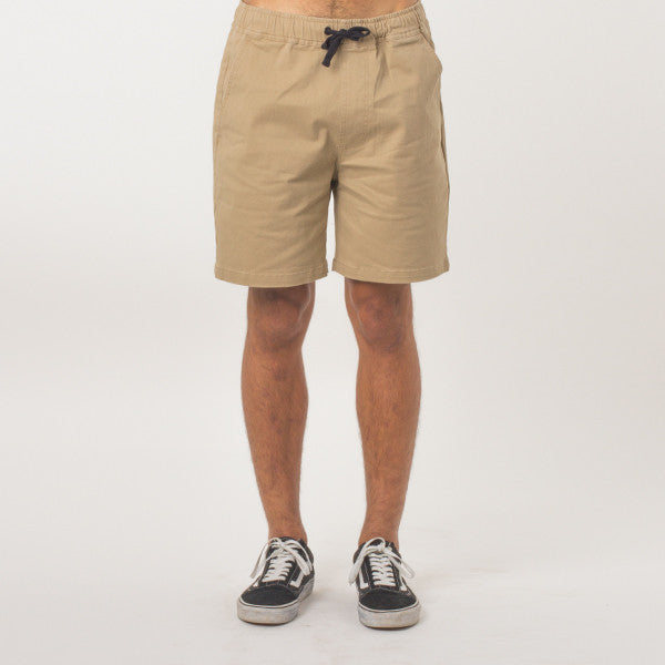 Lower Wood Short - Tan