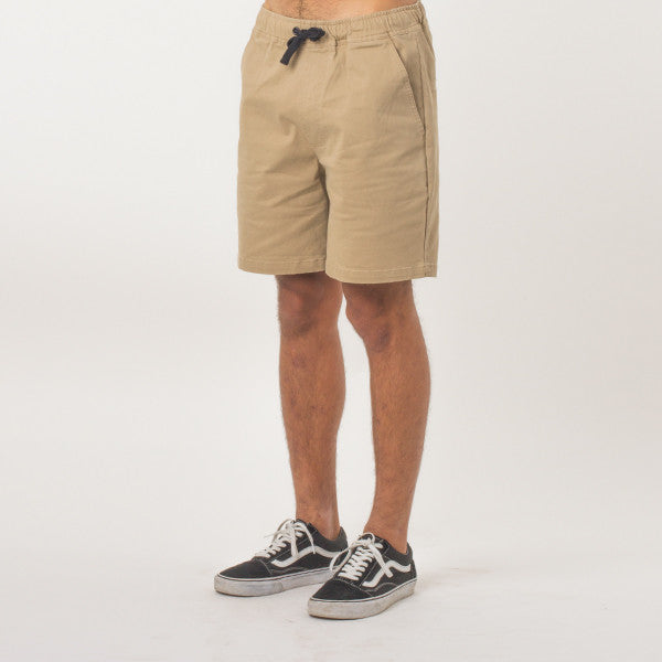 Lower Wood Short  in Tan