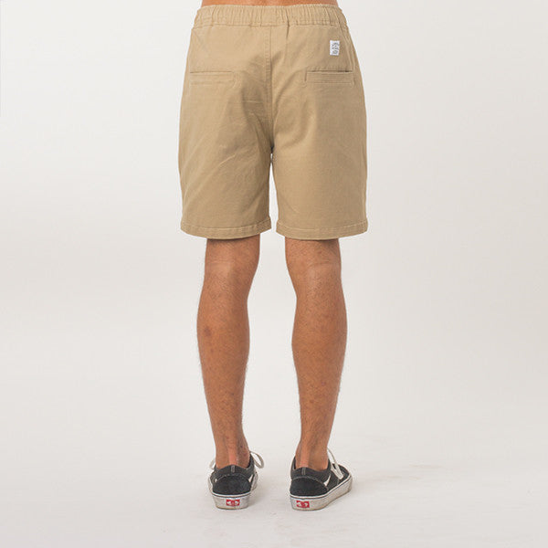 Lower Wood Short (Tan)