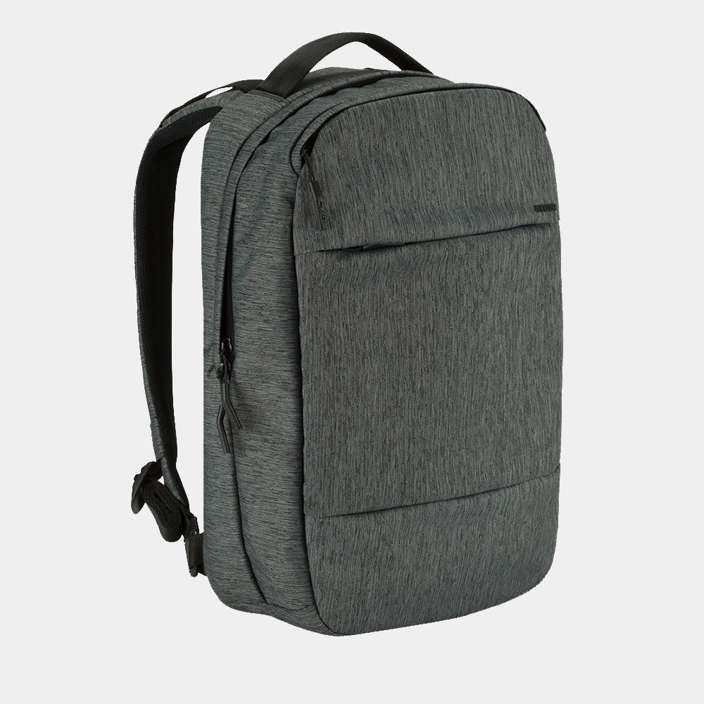 Incase Compact Backpack - Heather Black/Gunmetal Grey