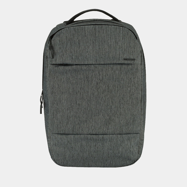 Incase Compact Backpack in Heather Black/Gunmetal Grey