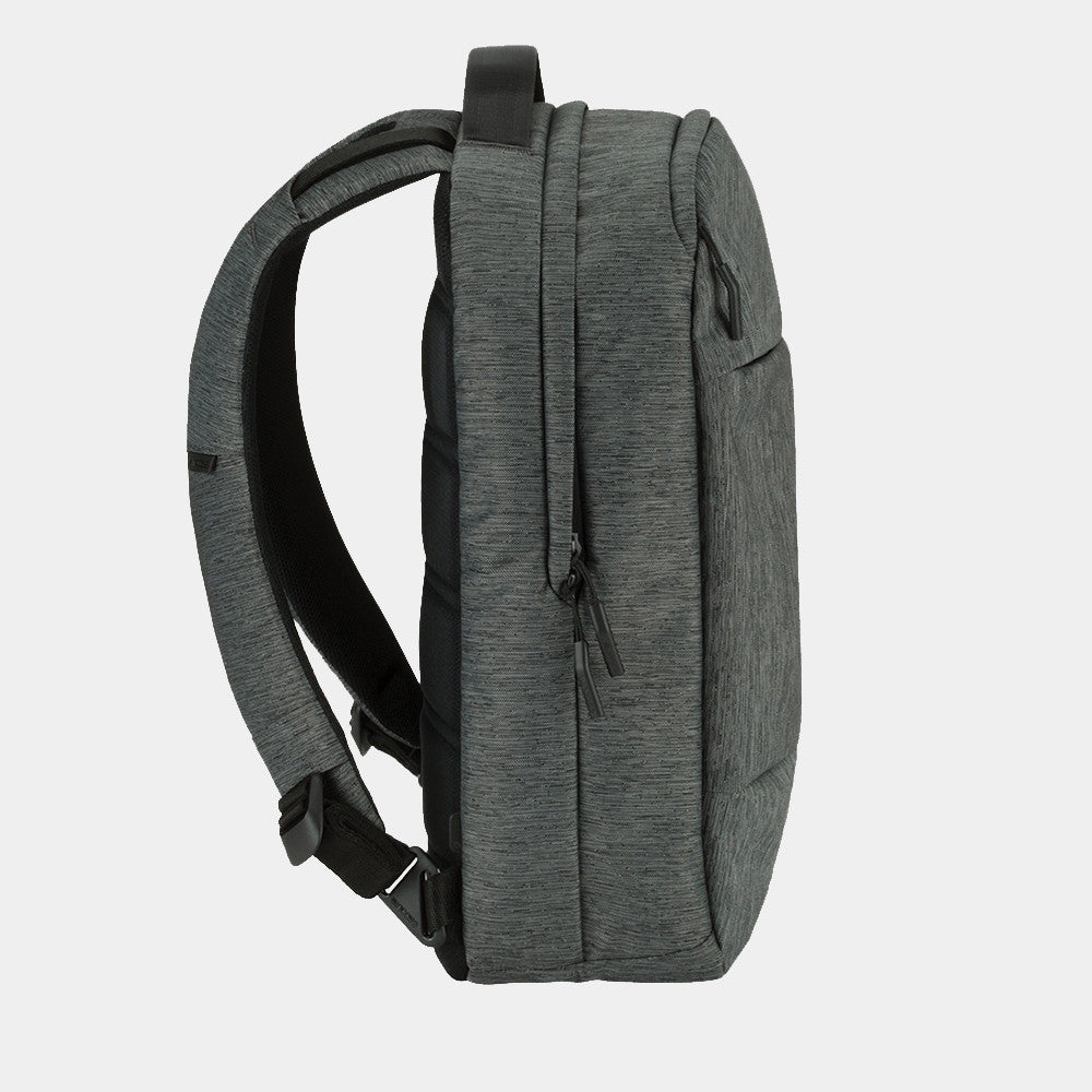 Incase - Compact Backpack in Heather Black/Gunmetal Grey