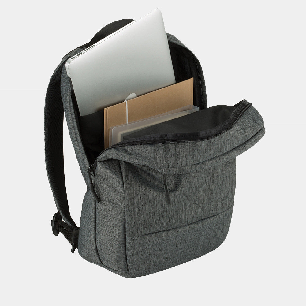 Incase - Compact Backpack / Heather Black/Gunmetal Grey
