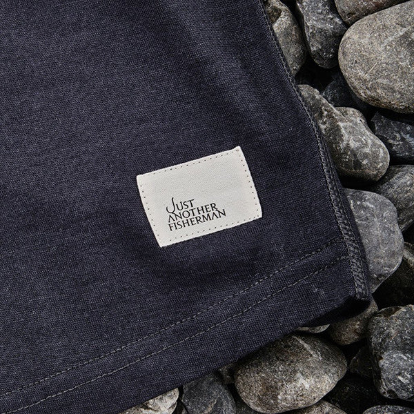 Just Another Fisherman Wintertide Tee in Charcoal