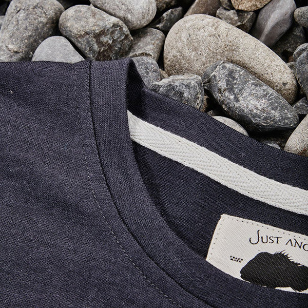 Just Another Fisherman / Wintertide Tee Charcoal