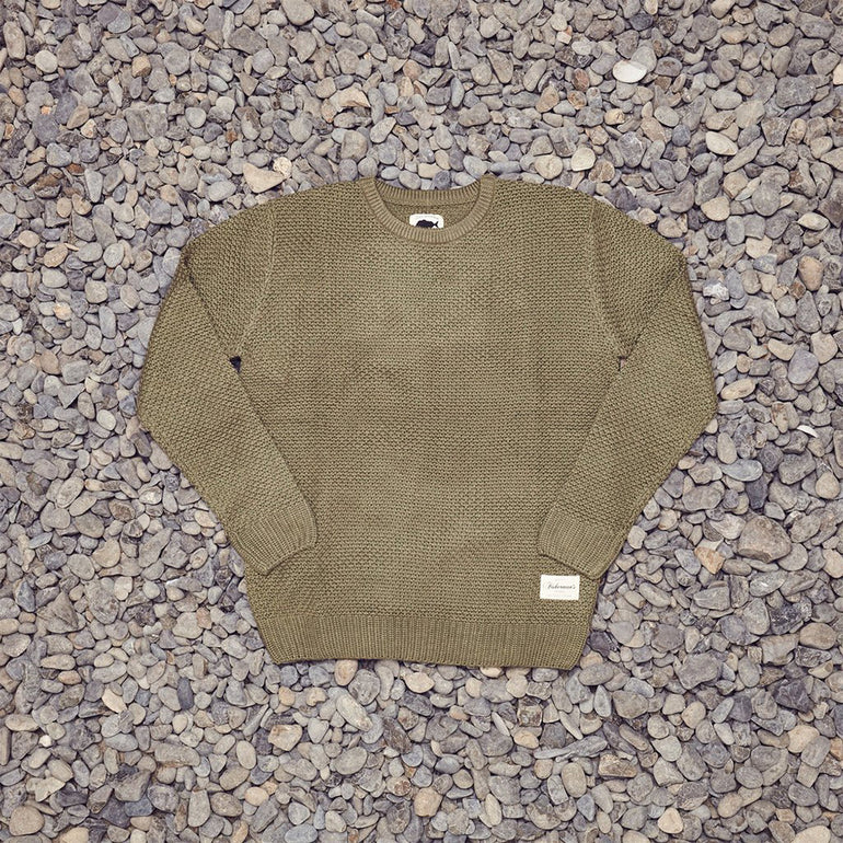 Just Another Fisherman Contour Crew - Khaki