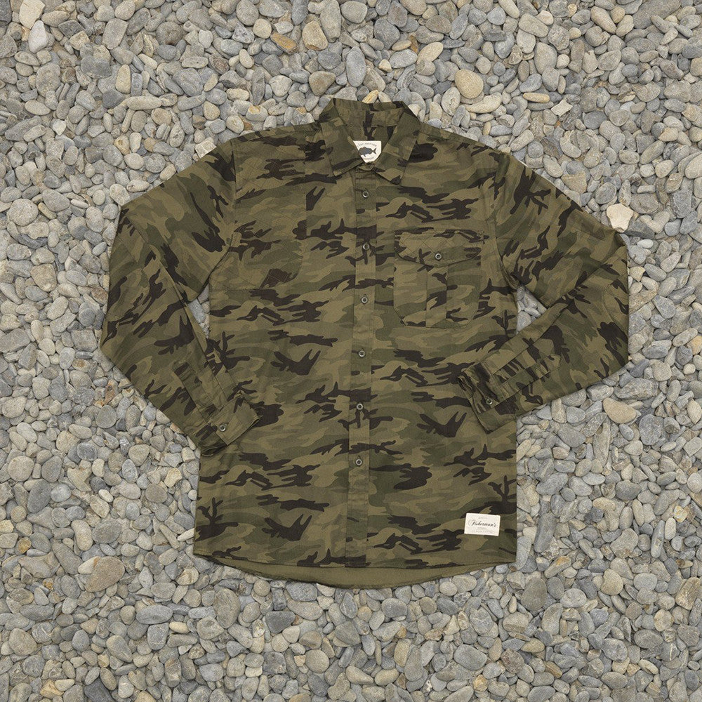 Just Another Fisherman Corrosion Shirt - Camo