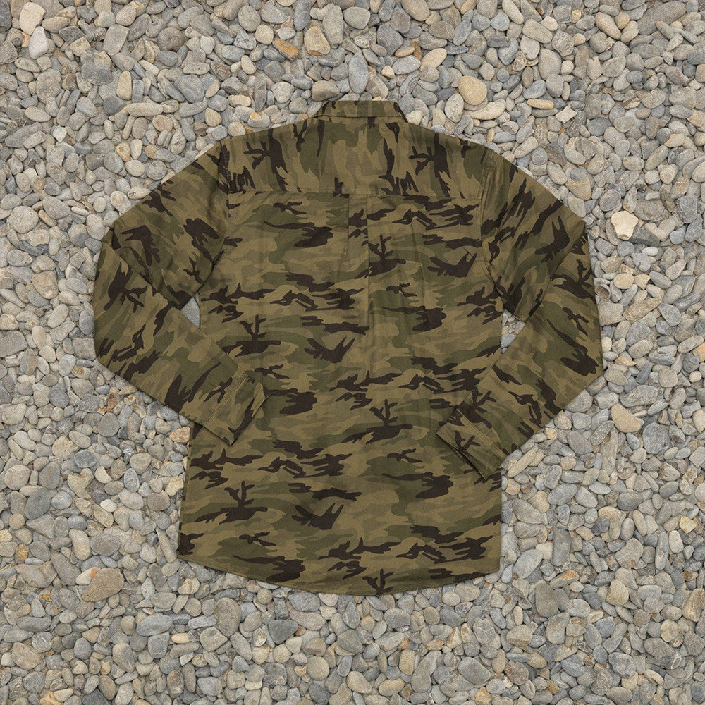 Just Another Fisherman Corrosion Shirt in Camo