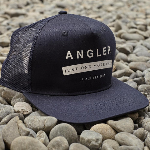 Just Another Fisherman Angler Trucker - Dark Navy