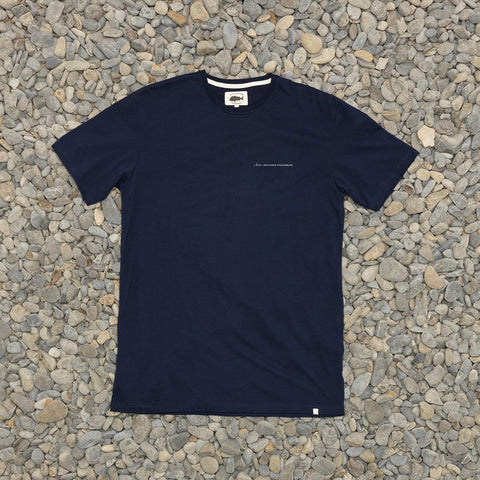 Just Another Fisherman Logo Type Tee - Navy