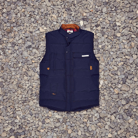 Just Another Fisherman Mooring Vest - Navy