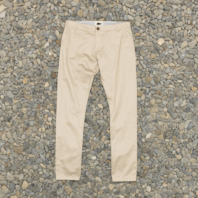 Just Another Fisherman Pier Chino - Light Grey