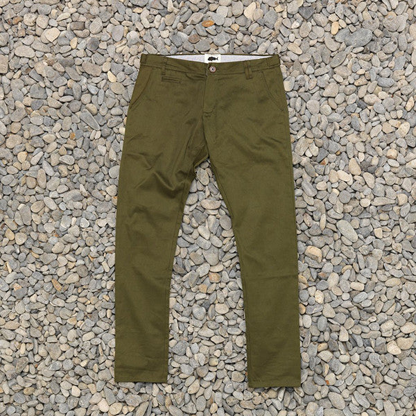 Just Another Fisherman Pier Pants - Army Green