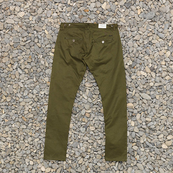 Just Another Fisherman Pier Pants in Army Green