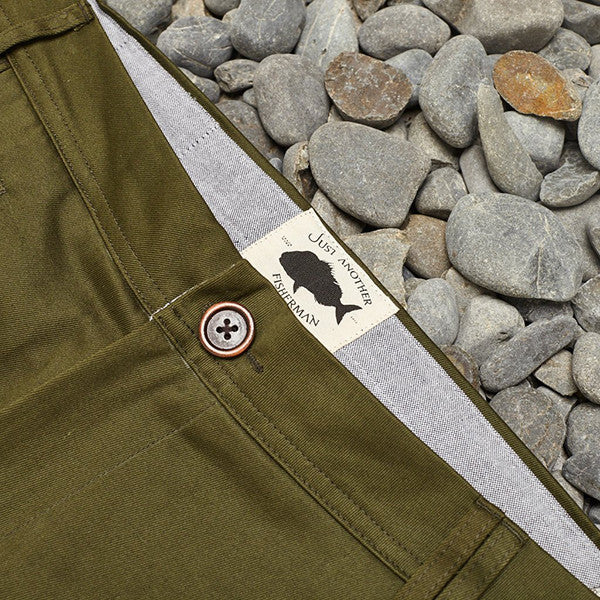 Just Another Fisherman Pier Pants Army Green