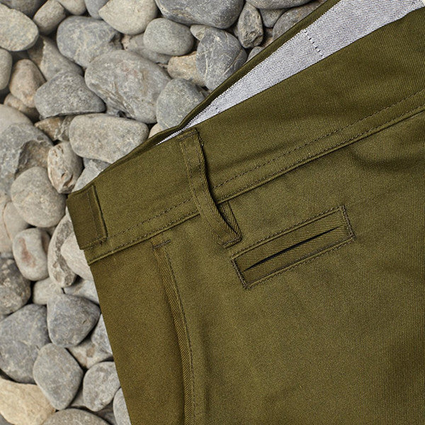 Just Another Fisherman / Pier Pants - Army Green