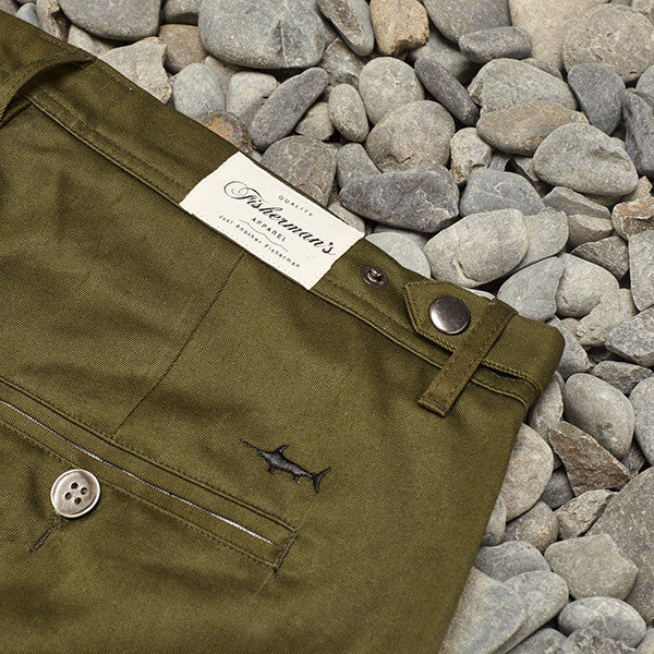 Just Another Fisherman / Pier Pants Army Green